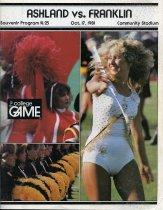 Image of 2011-021981Football1017 - Ashland College vs Franklin College football October 17, 1981