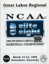 Image of 2011-021992MenBskball0313 - Ashland University men's basketball elite eight championship March 13-14, 1992