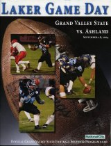 Image of 2011-022004Football0918 - Grand Valley State University vs Ashland University football September 18, 2004