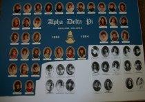 Image of Alpha Delta Pi 1983-1984 composite photograph