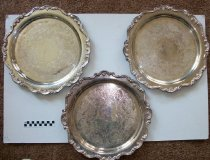 Image of Serving trays-set of three  - Objects Collection