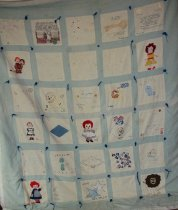 Image of Knotted coverlet 1976 - Quilt