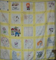 Image of Knotted coverlet - Quilt