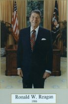 Image of John Ashbrook Award for Public Service given in Ronald Reagan