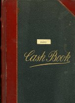 Image of 2011-18Ledger1913 - Cash book 1913