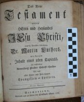Image of Biblia 1776 copy 1 NT title page