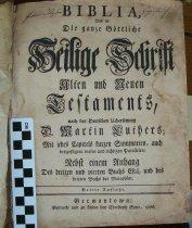 Image of Biblia 1776 Title page OT