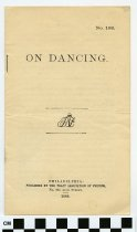 Image of On Dancing