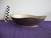 Image of Silver platted bowl Alpha Delta Pi Ashland College, Ashland, Ohio - Objects Collection