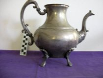Image of Silver platted pitcher Alpha Delta Pi Ashland College, Ashland, Ohio