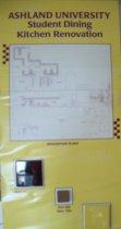 Image of Posters-Ashland University student dining kitchen renovations convocation center, Ashland, Ohio. - Poster