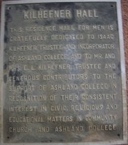 Image of Plaques metal from Kilhefner Hall - Plaque