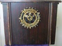 Image of Podium-Ashland Rotary Club, Ashland, Ohio. - Podium