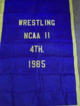 Image of Banner-Ashland University Sports Department, Ashland, Ohio. - Banner