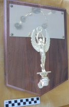 Image of Award presented to Mabel B. Young-Community Service 1980.
