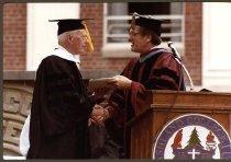 Image of Fred Lennon and Dr. Joseph Shultz.
