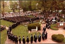 Image of Commencement activity May 1983 Ashland College, Ashland, OH.