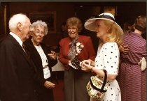 Image of Fred and Alice Lennon with Doris Shultz, Jean Ashbrook.