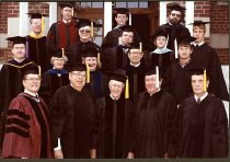 Image of Commencement committee Ashland College May 1983.