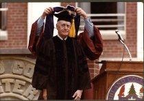 Image of Fred Lennon May 1983 Ashland College, Ashland, Ohio.