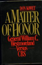 Image of A Matter of Honor