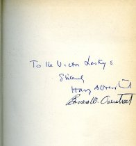 Image of The Mind Goes Forth   autograph