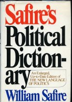 Image of 2011-283933612 -  Safire's political dictionary / by William Safire.