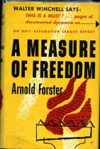 Image of 2011-28423394 - A measure of freedom, an Anti-Defamation League report.