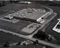Image of Aerial view Budd Compan, Packagaing Corp., Ashland, Ohio taken July 24, 198