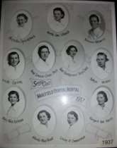 Image of Class Photograph 1937 College of Nursing, Mansfield, Ohio.