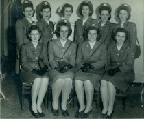 Image of Class Photograph 1945 College of Nursing, Mansfield, Ohio.