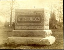 Image of 2012-02NicholsonMonument - Print, Photographic