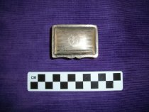 Image of Silver box-small. - Objects Collection