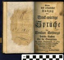 Image of Kurtzer und erbaulicher Auszug, oder, Denck-würdige copy two title page