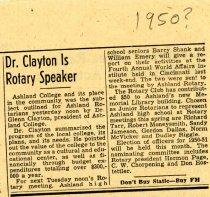 Image of Newspaper Ashland Times Gazette 1950