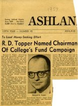 Image of 09-10newspaper1959 - Newspaper clipping Ashland Times Gazette 1959