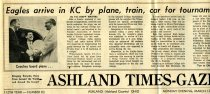 Image of 09-10newspaper19620312 - Newspaper clipping Ashland Times Gazette March 12, 1962    