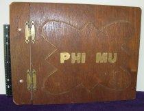 Image of Scrapbook 1976-1977 Phi Mu Delta Theta chapter Ashland University, Ashland, Ohio. - Scrapbook