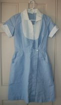 Image of Uniform last worn 1970 by nursing school students.  Mansfield General Hospital, Mansfield, Ohio. - Uniform