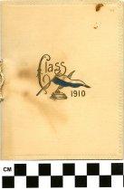 Image of Commencement /Graduation Programs at Ashland College/ Ashland University, Ashland, Ohio 1910 - Printed program