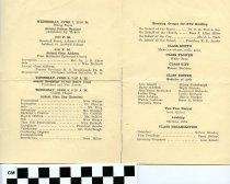 Image of Commencement /Graduation Programs at Ashland College/Ashland University     - Printed program