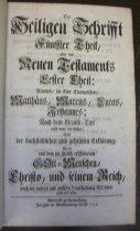 Image of Bible.  German.  Berlenburg.  1726-1742.  Volume Five