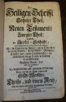 Image of Bible.  German.  Berlenburg.  1726-1742.  Volume Six