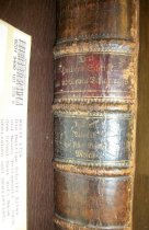 Image of Bible.  German.  Berlenburg.  1726-1742.