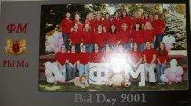 Image of Photographic 2001 Bid Day Phi Mu Delta sorority Ashland University, Ashland
