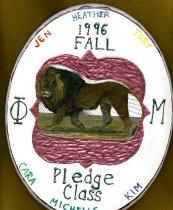 Image of Plaque fall 1996 pledge class Phi Mu Delta - Plaque