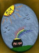 Image of Plaque Spring 1998 pledge class Phi Mu Delta - Plaque