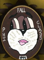 Image of Plaque Fall 1999 pledge class Phi Mu Delta