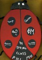 Image of Plaque 1999 pledge class Phi Mu Delta