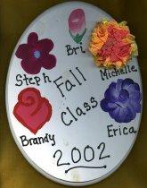 Image of Plaque Fall 2002 pledge class Phi Mu Delta - Plaque